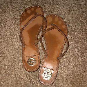 Shoes - tory burch flip flops